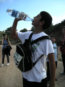 Hay que hidratarse, que caló